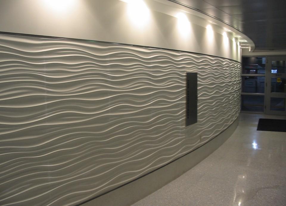 Mur texturé de l'aéroport Fort-Lauderdale